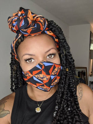 MBL Headwrap & Mask Set- Unbreakable
