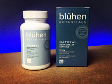 Load image into Gallery viewer, Bluhen Botanicals Blühen botanicals cbd near me knoxville, tn hemp tennessee full spectrum capsules