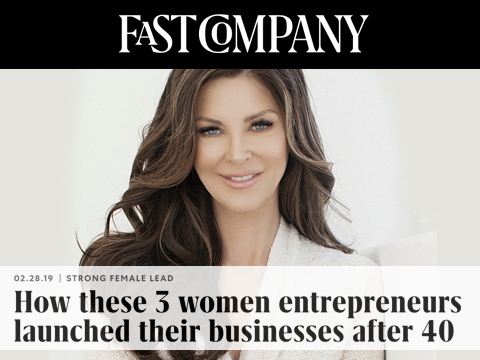 Shelley Goodstein, founder of Hidden Crown, featured in Fast Company.