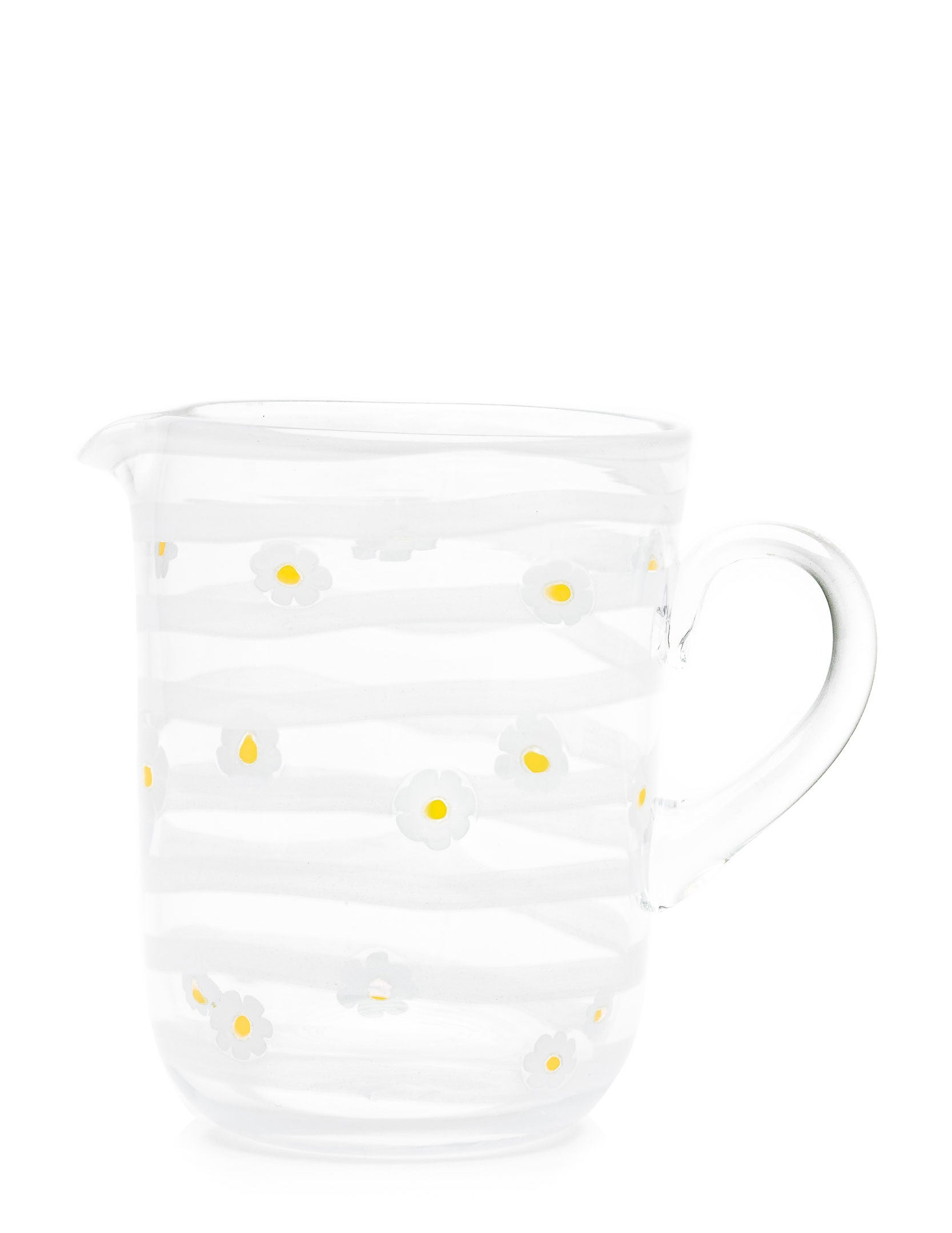 Margherite Jug-White
