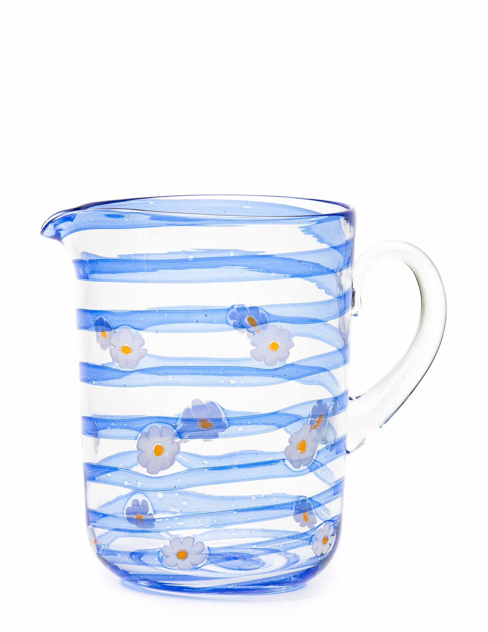 Margherite Jug-Blue
