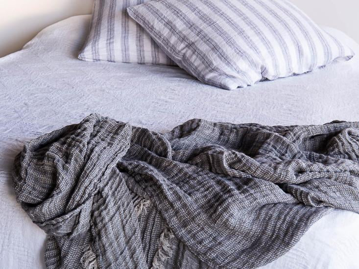 Crush Linen Throw