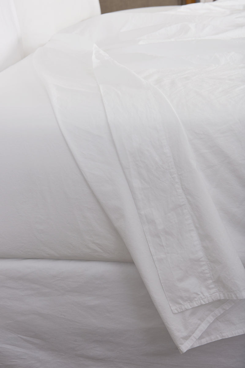 Relaxed Percale Flat Sheet