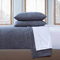 Vivada Gray Woven Coverlet Set