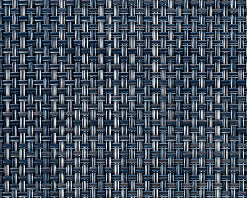 Basketweave Floor Mat - Denim
