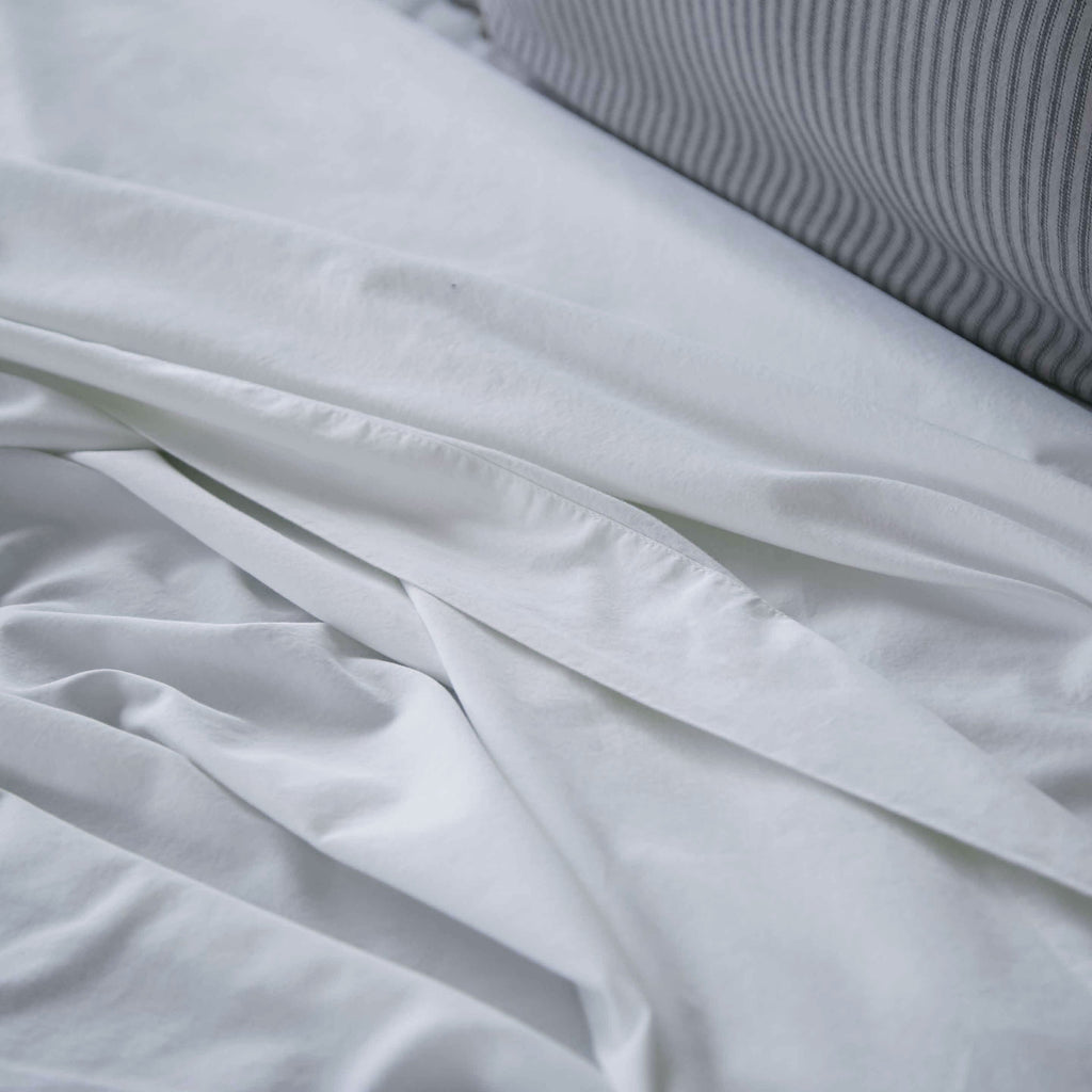 Washed Sateen Flat Sheet