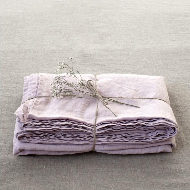 Washed Linen Bed Sheet