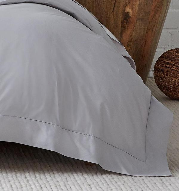Celeste Queen Duvet White