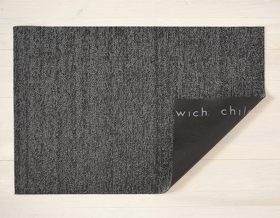 Heathered Shag Mat-Grey