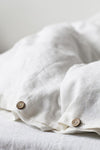 Classic Washed Linen Duvet Cover