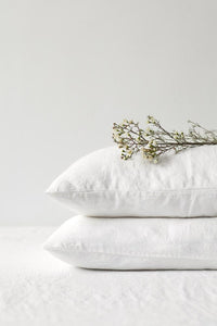 Classic Washed Linen Pillow Case