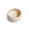 Small Ribbed Ceramic Speckled Dip Bowl
