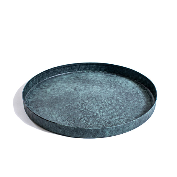 Green Patina Tray