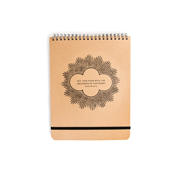 Fill Your Paper - Spiral Notebook