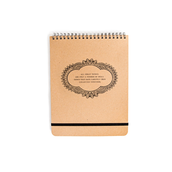 All Great Things - Spiral Notebook