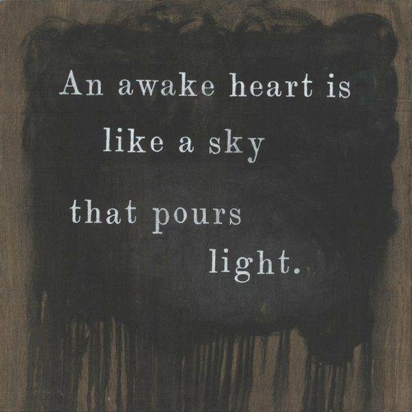 An Awake Heart - Sugarboo And Co Art Print - Gallery Wrap
