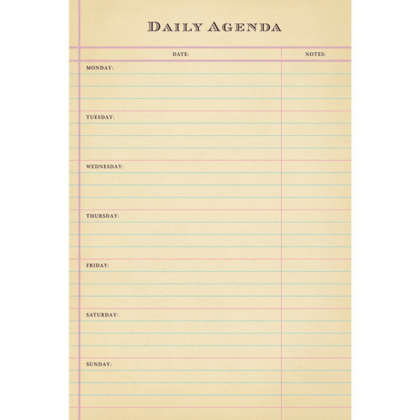 image relating to Daily Agenda referred to as Day-to-day Routine