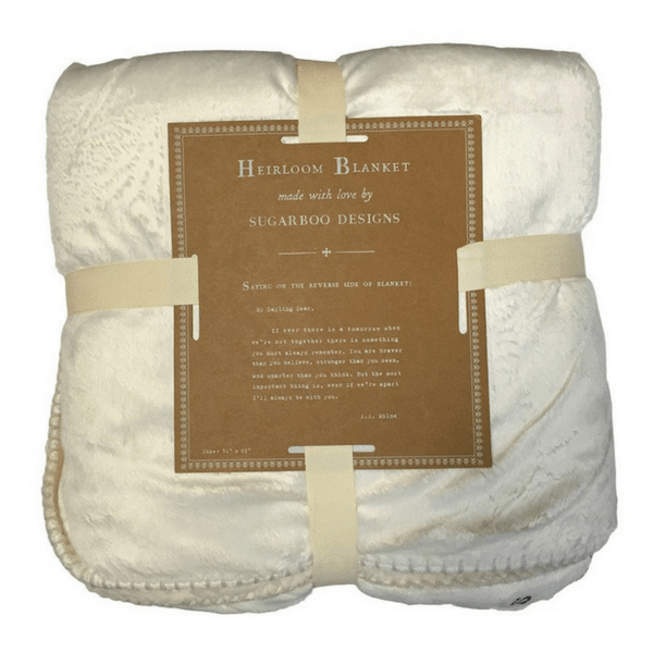 Adult Blanket - Darling Dear - Sugarboo and Co