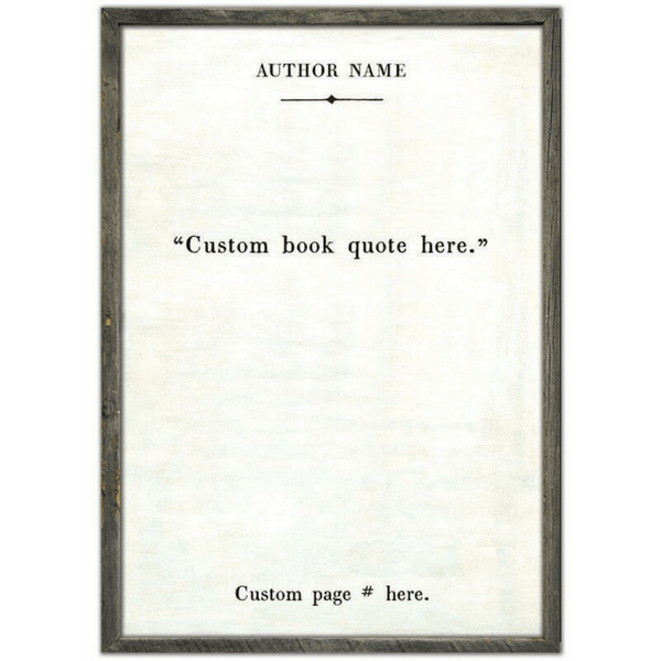 Custom Book Collection Print - Sugarboo and Co - White