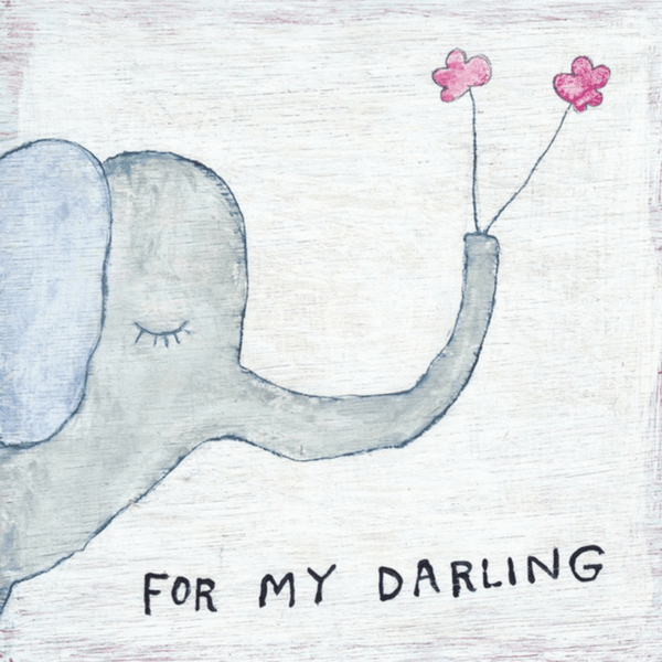 For My Darling Art Print - Sugarboo and Co - Gallery Wrap