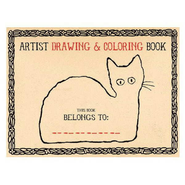 Artist Drawing and Coloring book - Sugarboo and Co