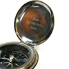 Engraved Pocket Compass - Sugarboo and Co