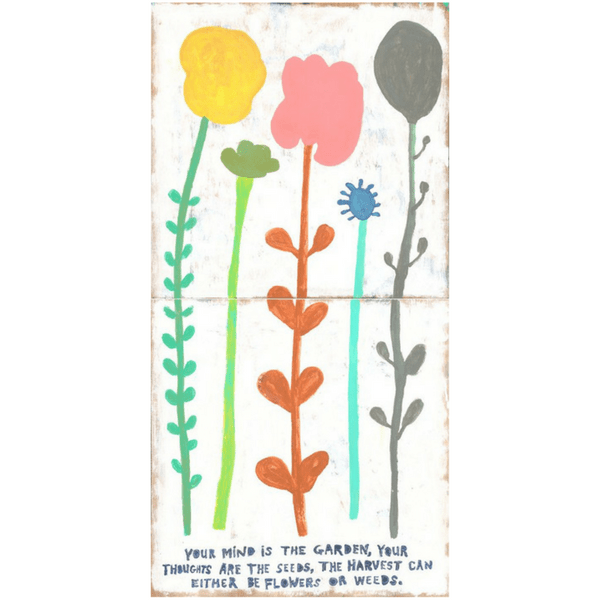 Your Mind is a Garden - Sugarboo and Co Art Print