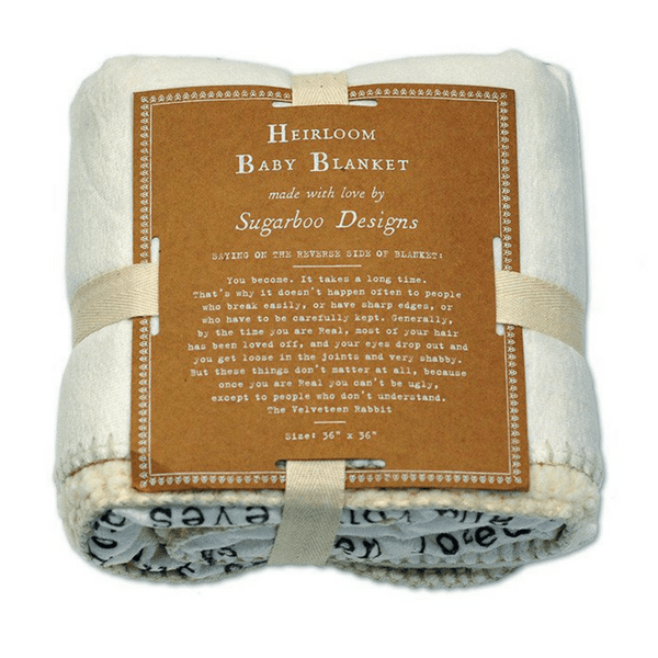 Baby Blanket   The Velveteen Rabbit   Sugarboo And Co