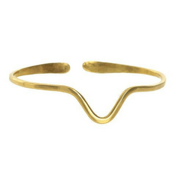 Fauna Cuff - V Shaped - Sugarboo and Co