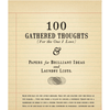 100 Gathered Thoughts Notepad - For the one i love - Sugarboo and Co