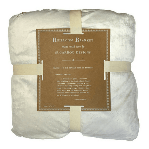 Heirloom Blanket - Beautiful darling - Sugarboo and Co