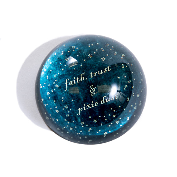 Star Design Constellation Quote Paperweight