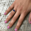 Lapis Rectangle Ring - Sugarboo and Co