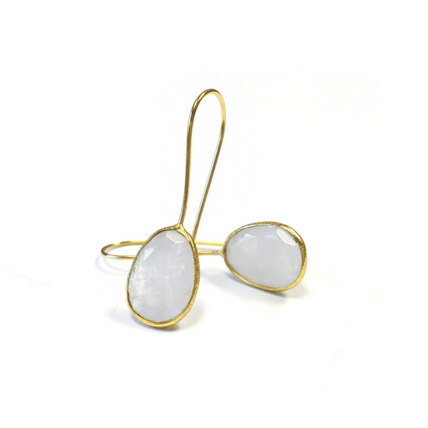 and trifari glass stone product moonstone vermeil sterling artificial moon earrings