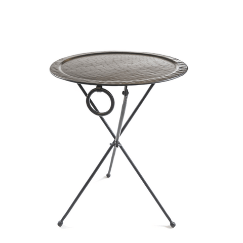 Black Iron Folding Table - Sugarboo and Co