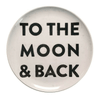 Sugarboo Art Print Melamine Plates - To the Moon & Back - Sugarboo and Co