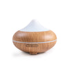 Modern natural wood essential oil Glowing light Aroma Diffuser