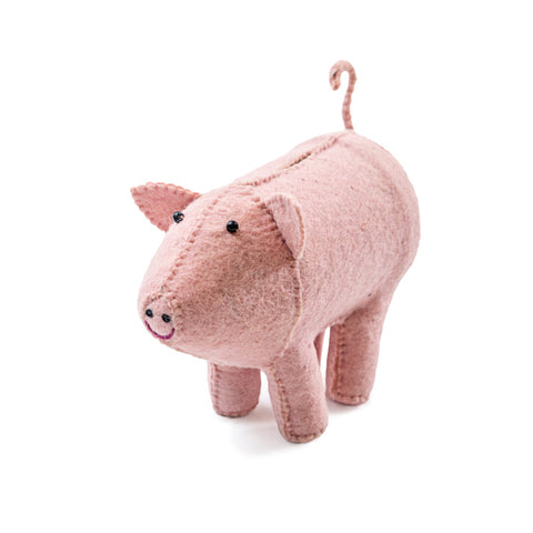 Felt piggy bank | Sugarboo & Co.