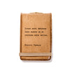 Mini Leather Journals (9 Sayings)