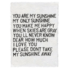 Sugarboo Paper Prints - You are my sunshine
