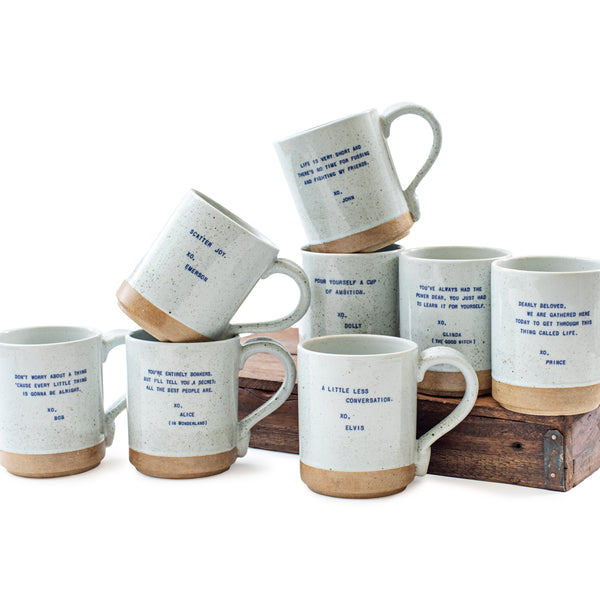 Sugarboo & Co - XO Mugs - 8 Different Quotes to Choose From