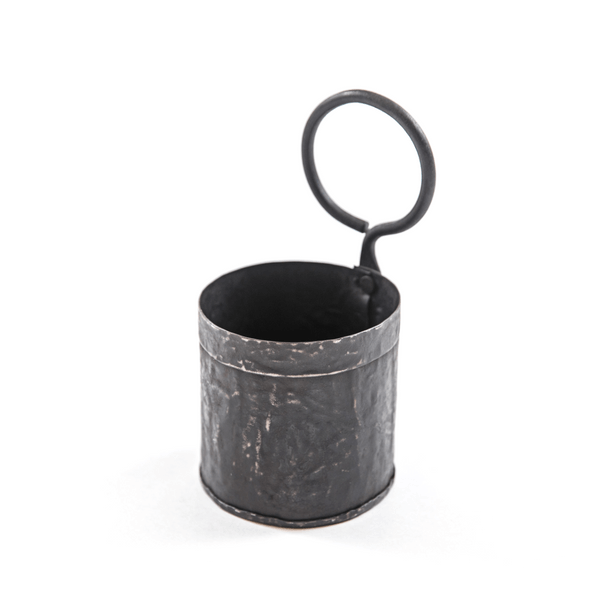 Iron Canister with Handle - Sugarboo and Co