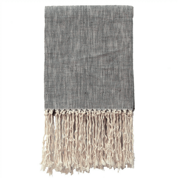 Cotton Tassel Throw - Sugarboo and Co