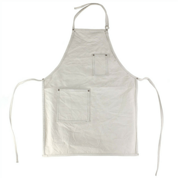 Canvas Apron - Natural White - Sugarboo and Co