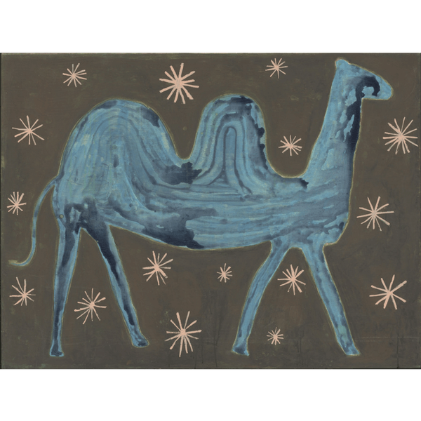 Camel in the Stars - Sugarboo and Co Art Print - Gallery Wrap