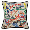 Hand-Embroidered Pillow - Kentucky - Sugarboo and Co