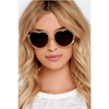 Heart Stomper Sunglasses - Crystal Champagne - Sugarboo and Co