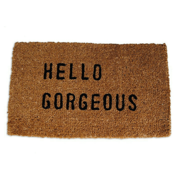 Door Mat - Hello Gorgeous - Sugarboo and Co