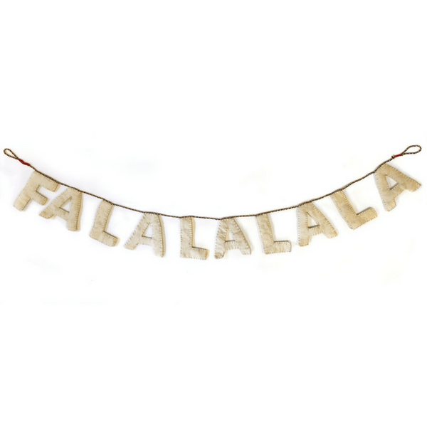 Felt Fa La La La La Garland - Sugarboo and Co