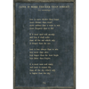 Love is More Thicker - e.e. cummings - Sugarboo and Co Poetry Collection - Charcoal - Grey Wood Frame